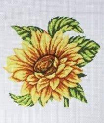 Схема для вышивания нитью мулине 20х28 см № 4006