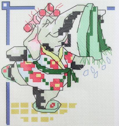 Схема для вышивания нитью мулине Д-065