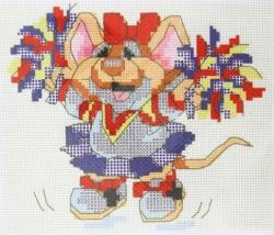 Схема для вышивания нитью мулине Д-078