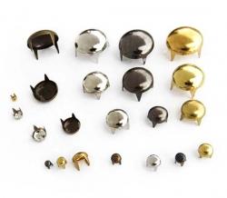 Заклёпки декоративные (круглые) 9,5 мм 1/500 шт
