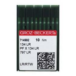 Иглы GROZE-BECKERT 134LR на промышленную швейную машинку для кожи
