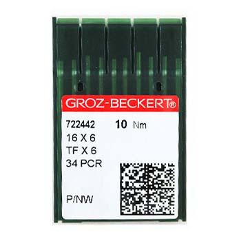 Иглы GROZE-BECKERT 34 PCR для промышленных швейных машин (кожа)