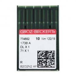 Иглы GROZE-BECKERT DBx1 на промышленную швейную машинку для прямострочки