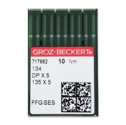 Иглы GROZE-BECKERT DPx5 для промышленных швейных машин (прямострочка)