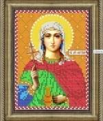 """Набор алмазной выкладки ДМ-708 """"Св. Мчц Фотина"""""""