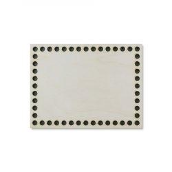 Донышко прямоугольное №7001 20х10 см