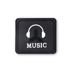 "Нашивка №24 ""MUSIC"" 1/25 шт"