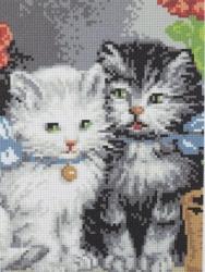 """Набор для вышивания Ф20 """"Котятки"""""""