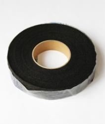 Паутинка клеевая, чёрный 2,0 см. 1/80 ярд.