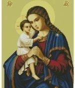 """Схема для вышивания крестом 014 Божия Матерь """"Взыскание погибших"""""""