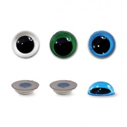 Глазки прозрачные 14 мм 1/250 шт