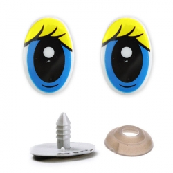 Глазки винтовые №427-308 30х20 мм 1/100 шт