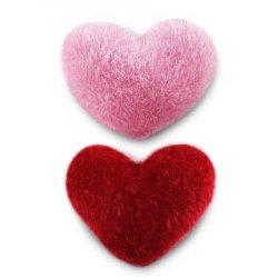 """Игольница """"Сердечко"""" роз.+красн."""