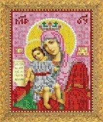 """Рисунок на ткани для вышивания бисером 309М """"Прсв.Богородица Достойно Есть"""""""