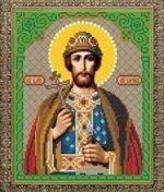 Рисунок на ткани для вышивания бисером Бис 789 «Св. Борис»