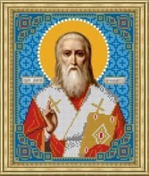 Рисунок на ткани для вышивания бисером Бис 796 «Св. Дионисий»