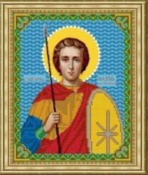 Рисунок на ткани для вышивания бисером Бис 835 «Св.Максим»