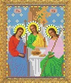 """Рисунок на ткани для вышивания бисером 331М """"Святая Троица"""""""