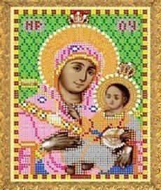"""Рисунок на ткани для вышивания бисером 430М """"Прсв.Богородица Вифлиемская"""""""