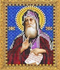 """Рисунок на ткани для вышивания бисером 758М """"Святой Антоний"""""""