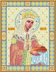 Канва для бисера КБИ-4028 Св. Царица Елена 18х23 см