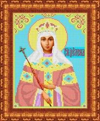 Канва для бисера КБИ-4028/1 Св. Царица Елена 18х23 см