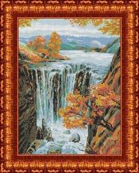 Канва для бисера КБП-2009 Водопад