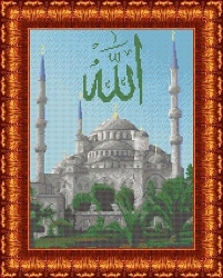 Канва для бисера КБП-3029 Голубая мечеть