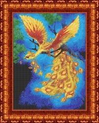 Канва для бисера КБЖ-2002 Жар птица