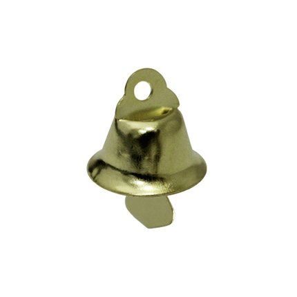 Колокольчик д.1,45см (глянц., золото)