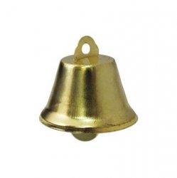 Колокольчик д.3,2см (глянц., золото)
