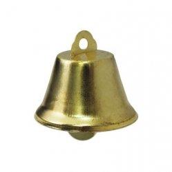 Колокольчик д.3,5см (глянц., золото)
