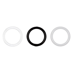 Кольцо, пластик 10 мм 1/500 шт