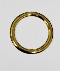 Кольцо металлическое №1902 золото