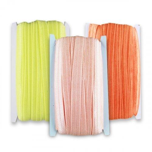 Косая бейка К211 трикотаж цветная 1,5 см 1/36 ярд