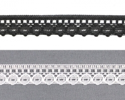 Кружево капроновое №K577 1,3 см 1/25 ярд