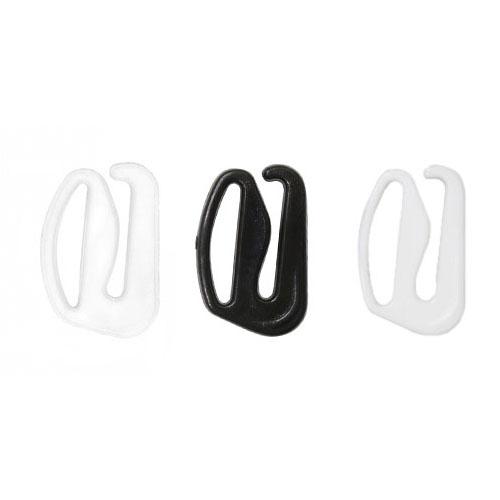 Крючки, пластик 12 мм 1/500 шт