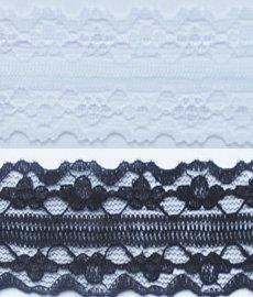 Кружево капроновое 125-2 2,5 см 1/25 ярд