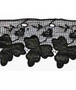 Кружево плетеное с кож.зам вставками А-457