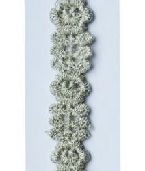 Кружево капроновое с люрексом S215