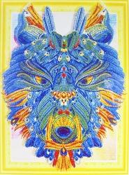 Набор-картина со стразами на подрамнике 001 LP