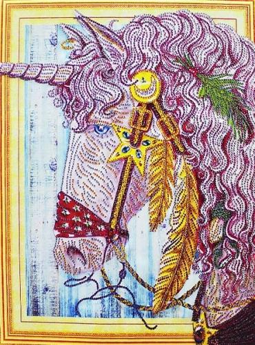 Набор-картина со стразами на подрамнике 008 LP