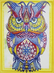 Набор-картина со стразами на подрамнике 013 LP