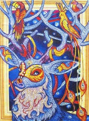 Набор-картина со стразами на подрамнике 021 LP