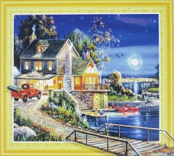 Набор-картина со стразами на подрамнике 045 LP
