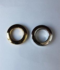 Люверс шторный серебро,золото 4,5см