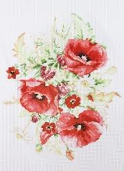 Схема для вышивания нитью мулине 20х28 см № 4070