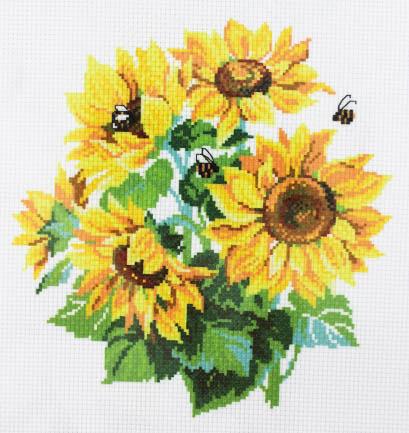 Схема для вышивания нитью мулине 20х28 см № 7083