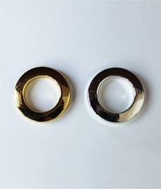 Люверс шторный золото, серебро 3см