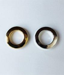 Люверс шторный золото, серебро 3,5см